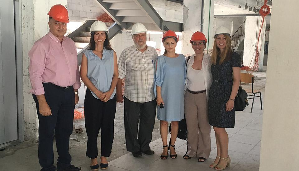 Coventry University visits the Aegean College of Larissa